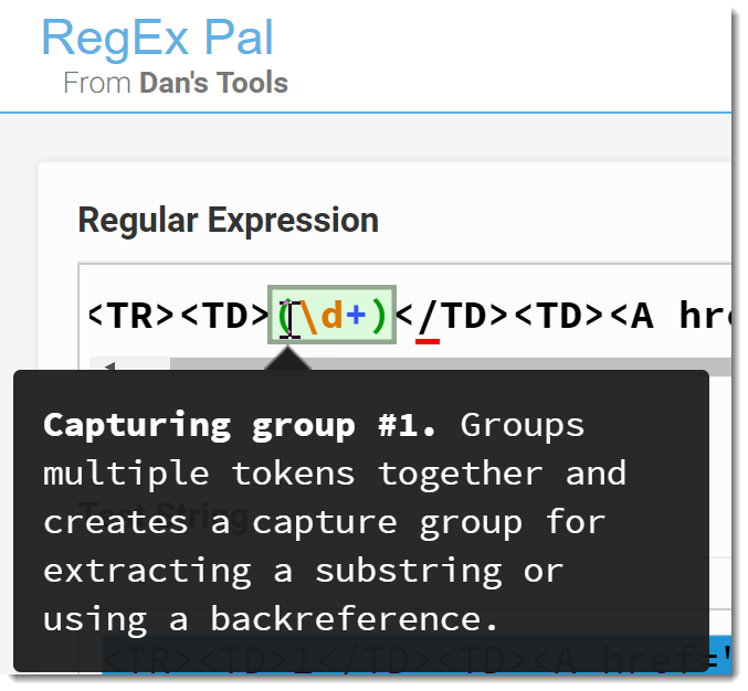 Rocking it with Regex