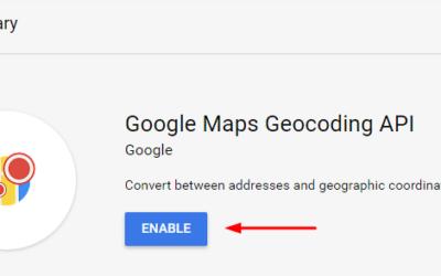 Download tool with Google Geocoding API