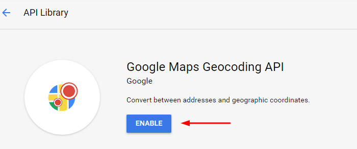 Download tool with Google Geocoding API