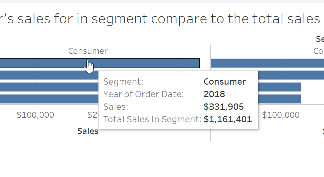 How To Use Level Of Detail in Tableau: EXCLUDE Function