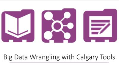 Big Data Wrangling with Calgary Tools