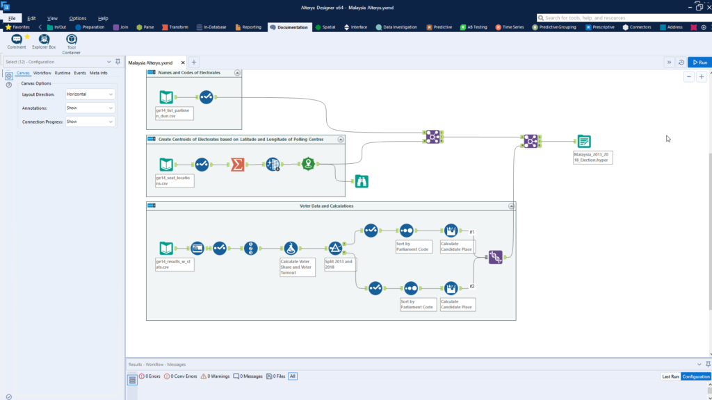 Alteryx Workflow