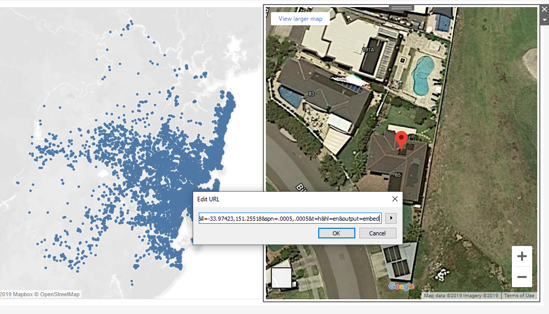 How to Embed Google Street View in Tableau