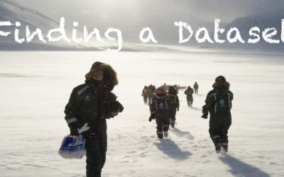 Finding a Dataset
