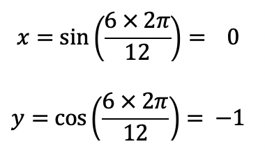 Example (time) equations