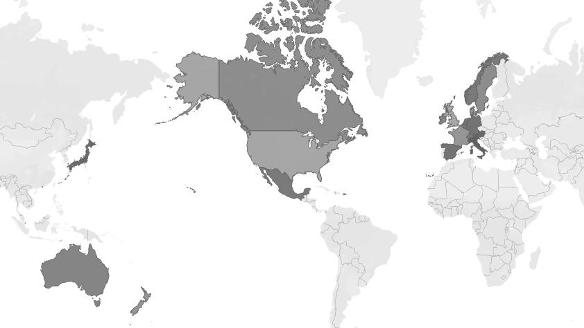Kickstarter World Map