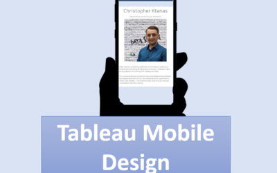 How to Design Dashboards for Mobile and Tablet Using Tableau