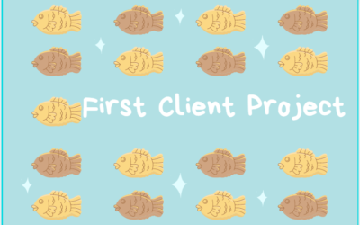 My First Client Project Experience