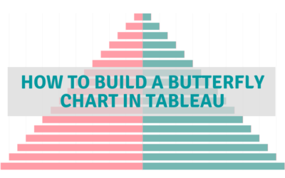 How to Build a Butterfly Chart in Tableau