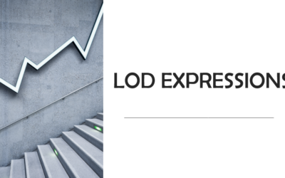 Fundamental Concepts behind LOD Expressions in Tableau