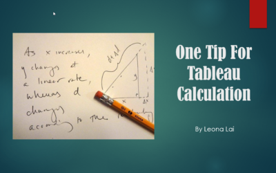 3 Types of  Calculations that Can't Be Dimensions in Tableau