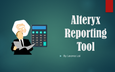 Create Reports Using Alteryx Reporting Tools
