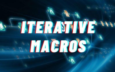 How to Build Alteryx Iterative Macros