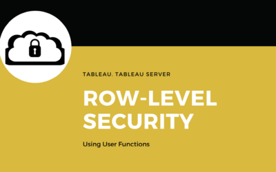 Row-Level Security in Tableau using User Functions