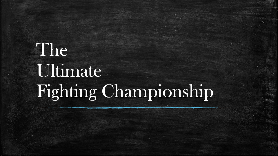 Dashboard Week Day 2 – The Ultimate Fighting Championship Dataset