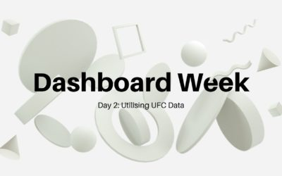 Dashboard Week Day 2: UFC Data