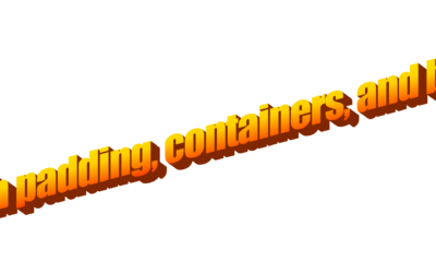 Tableau Padding and container tips