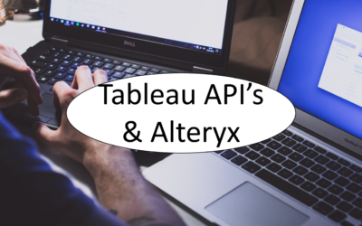 Connecting Tableau Metadata in Alteryx (Part 2 – API's)