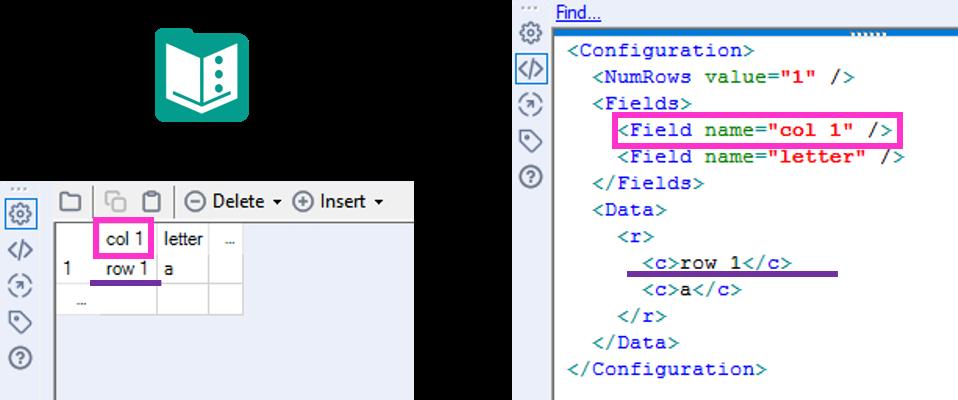 Text Input XML Example