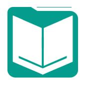 Aqua Coloured Icon for Input Data Tool