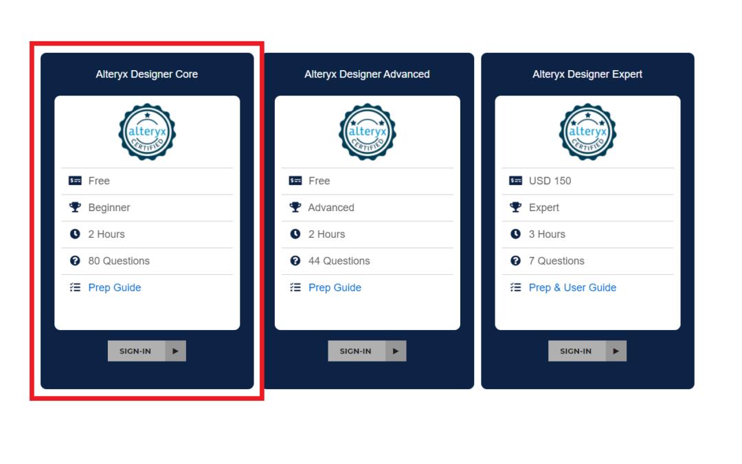 HOW TO: Pass the Alteryx Designer Core Certification Exam