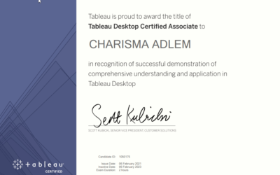 Passing the Tableau Desktop Certified Associate Exam on version 2020.1