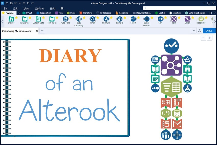 Diary of an Alterook – Alteryx Decluttering Tips