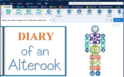 Diary of an Alterook – Pointers to Pass the Alteryx Designer Core Certification Exam