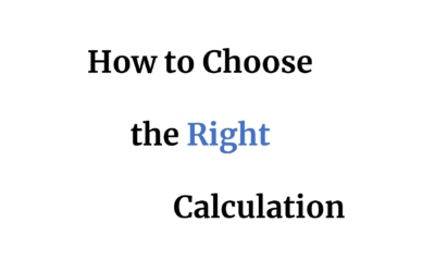 A Quick Guide of How to Choose the Right Calculation: Table Calc or LOD?