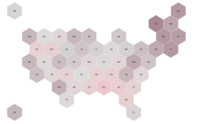 Another way to create and interact with the map in Tableau – Hex tile map