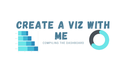 Create a viz with me: Compiling the dashboard