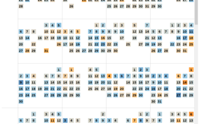 How to Make a Calendar in Tableau