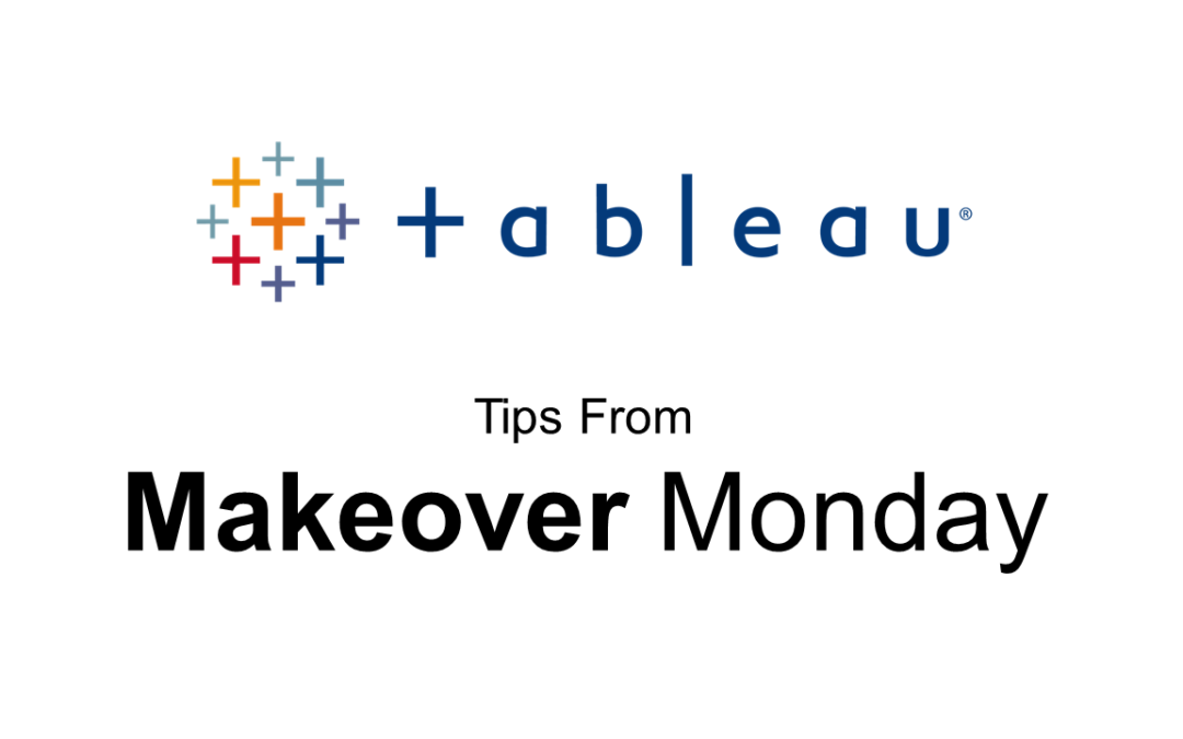 Tableau Tricks from my Makeover Monday
