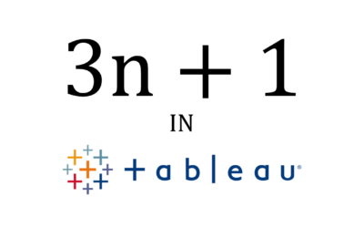 Using Table Calculations to Visualise Maths